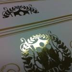 ロゴ金箔オリジナル賞状